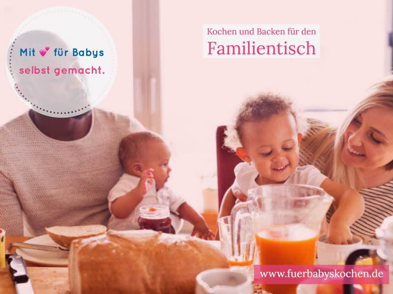 familientisch f r babys kochen leicht gemacht. Black Bedroom Furniture Sets. Home Design Ideas