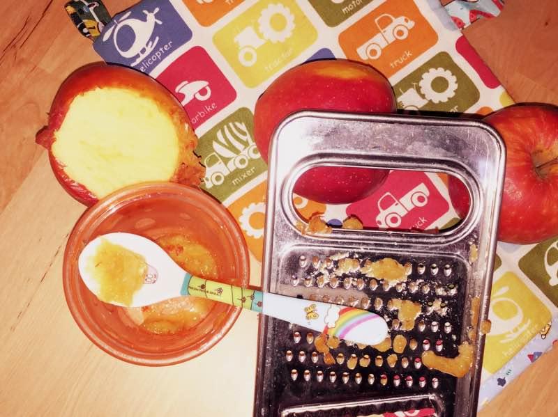 Geriebener Apfel Für Babys Kochen Leicht Gemacht